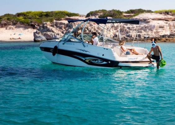 Location bateau Ibiza 1
