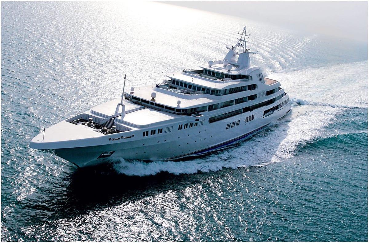 yacht de luxe