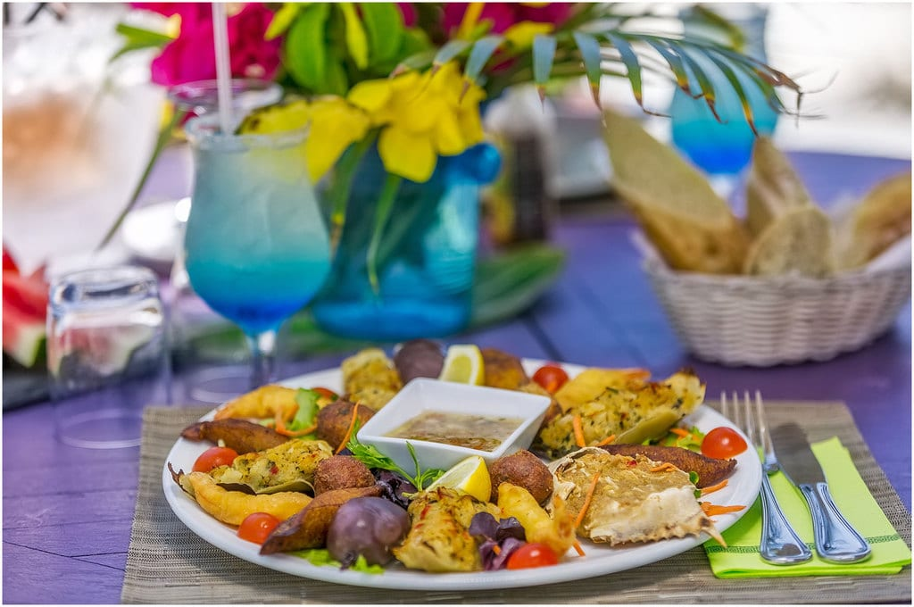 La cuisine de Saint-Martin en Caraïbes