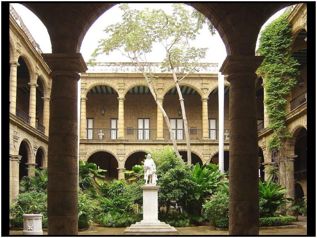 le Palacio de Los Capitanes Generales, Cuba