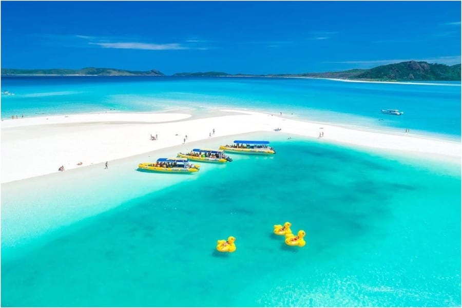 Vacances de luxe aux Whitsundays