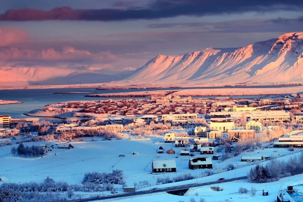 Islande en neige