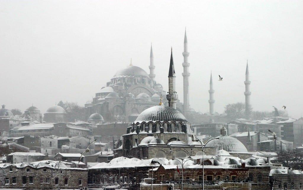 Istanbul en neige