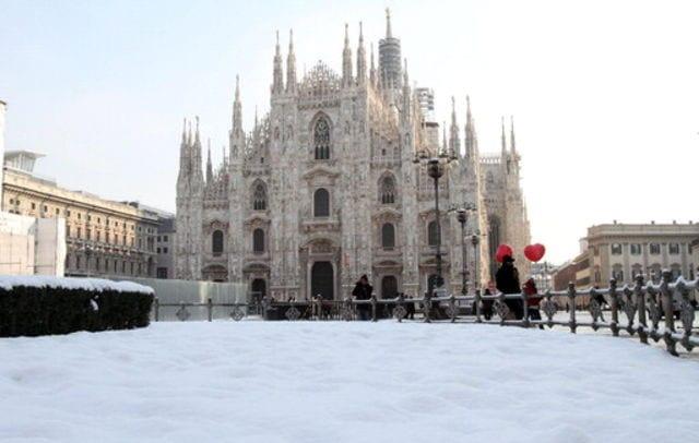 Italie en neige