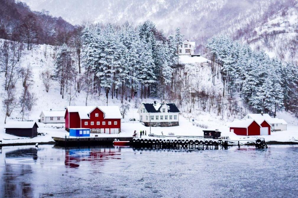 Oslo en neige