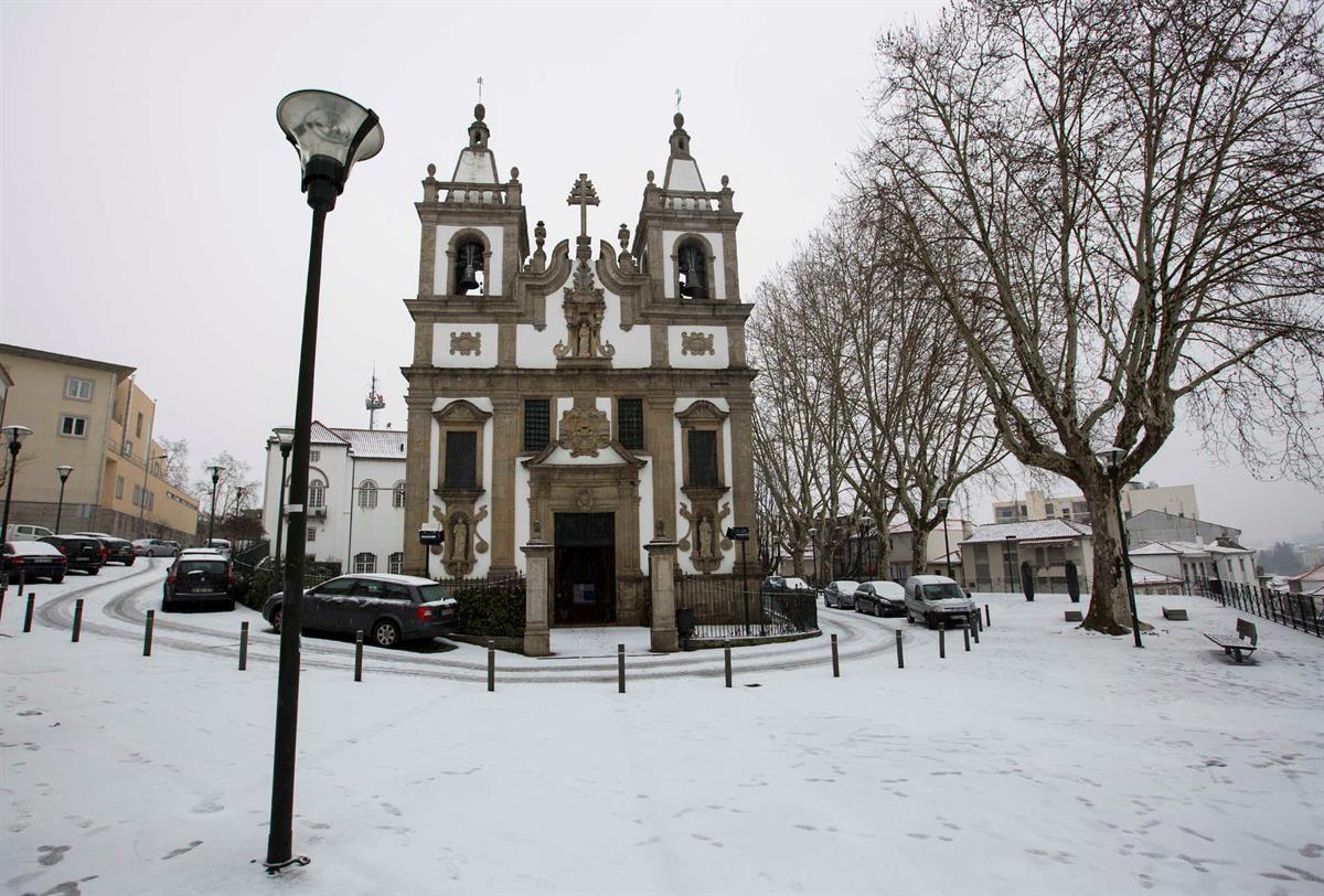 Portugal en neige