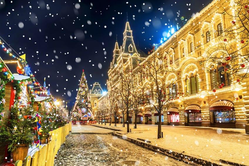 Saint-Petersbourg réveillon