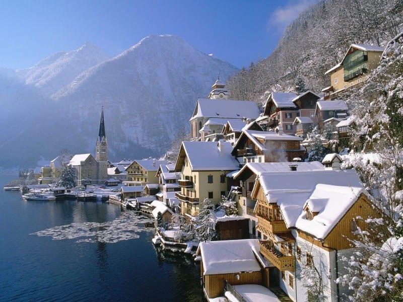 Vienne en neige