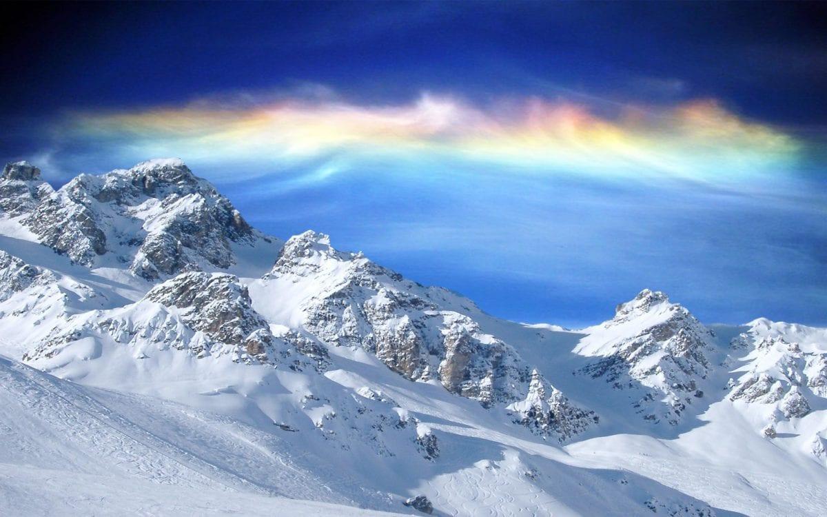 alpes en neige