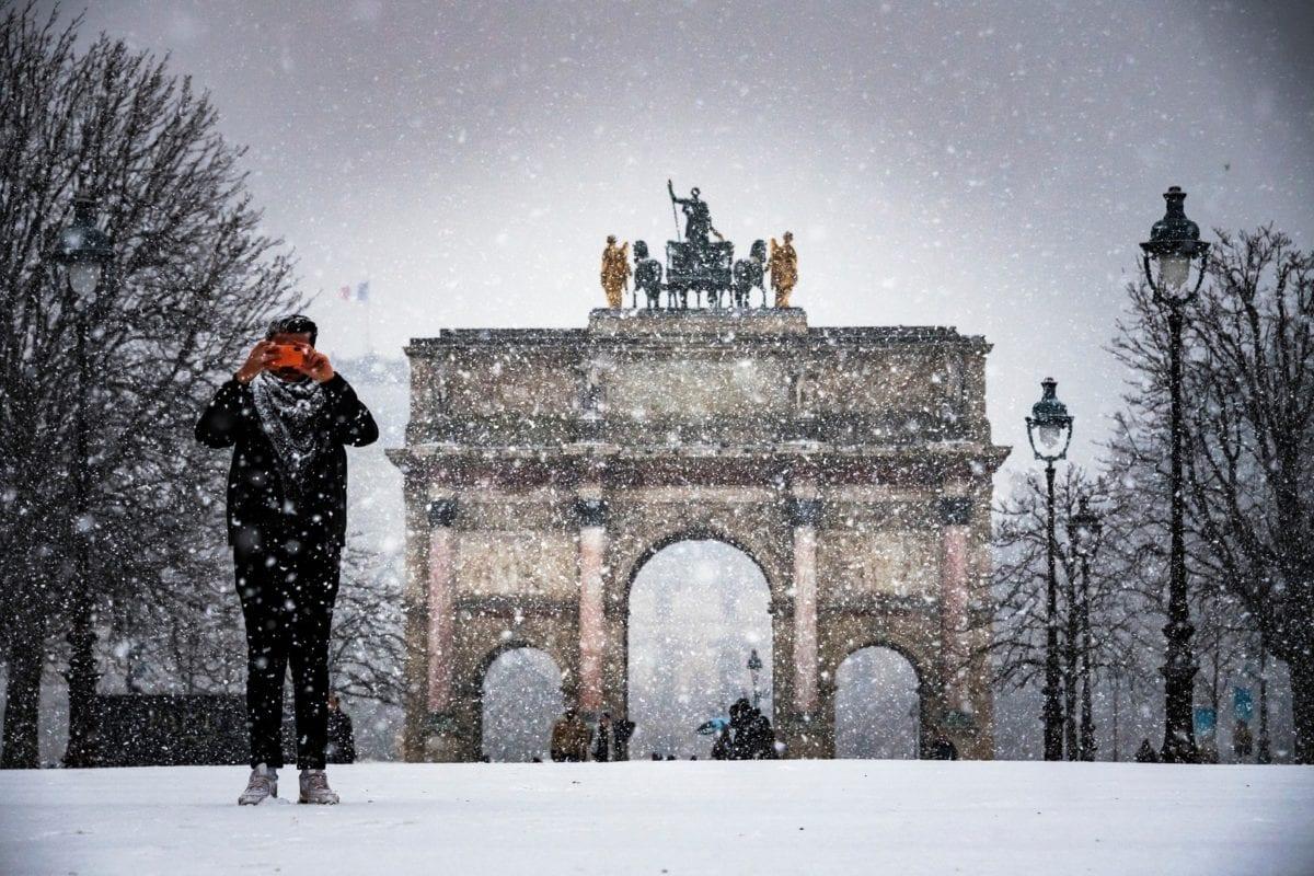france en neige