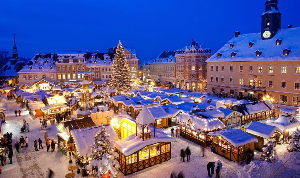 strasbourg en neige